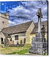 St Sannans Church Bedwellty 2 Acrylic Print