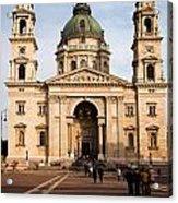 St Stephen's Basilica In Budapest Acrylic Print