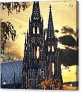 St Vitus Church In Hradcany Prague Acrylic Print by Jelena Jovanovic