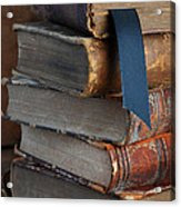Stack Of Vintage Books Acrylic Print