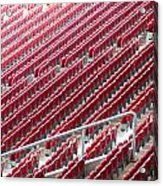 Stadium Seats Acrylic Print