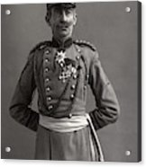 Stage German Officer Acrylic Print