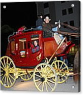 Stagecoach Acrylic Print