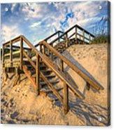 Stairway To Heaven Acrylic Print by Debra and Dave Vanderlaan