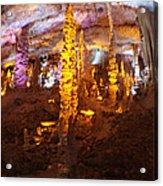 Stalactite Cave Acrylic Print
