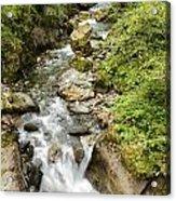 Stanghe's Waterfalls Acrylic Print