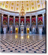 Statuary Hall Acrylic Print