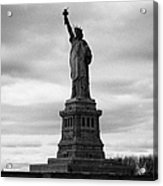 Statue Of Liberty National Monument Liberty Island New York City Acrylic Print by Joe Fox