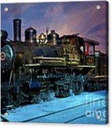 Steam Engine Nevada Northern Acrylic Print