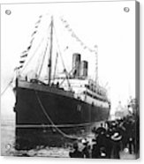 Steamship Accident, 1914 Acrylic Print
