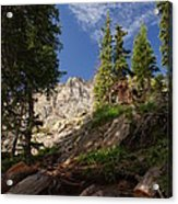 Steep Mountain Hike Acrylic Print