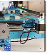 Stepper Motor On Industrial Machine Acrylic Print