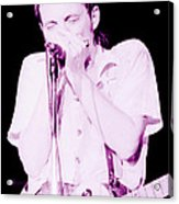 Steve Marriott - Humble Pie At The Cow Palace S F 5-16-80  Acrylic Print