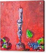 Still Life Painting Sketch Acrylic Print