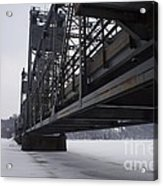 Stillwater Lift Bridge Acrylic Print