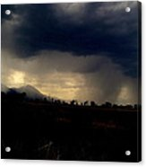 Storm Coming In Acrylic Print by Johanna Elik