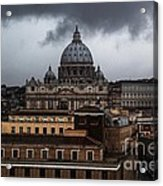 Storm Over St. Peter's  Acrylic Print