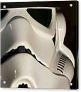 Stormtrooper Helmet Acrylic Print