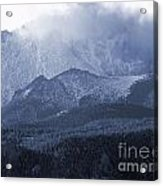 Stormy Peak Acrylic Print