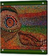 strange creature 40X21cm.    Acrylic Print