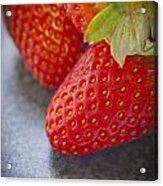 Strawberries Acrylic Print