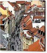 Streets Of Prague Acrylic Print