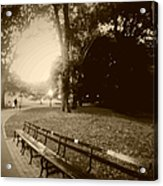 Strolling Through The Park Acrylic Print