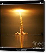 Sts-123 Endeavour Acrylic Print