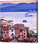 St.tropez At Sunset Acrylic Print