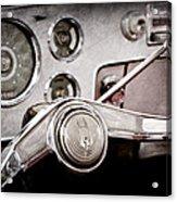 Studebaker Steering Wheel Emblem Acrylic Print