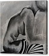 Study Acrylic Print by Corina Bishop