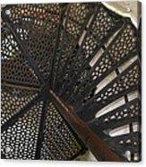 Sturgeon Point Lighthouse Spiral Staircase Acrylic Print