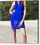 Summer Fashion Style Acrylic Print