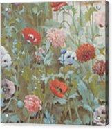 Summer Flowers Acrylic Print
