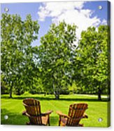 Summer Relaxing Acrylic Print