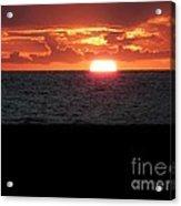 Sun Over Sea  Acrylic Print