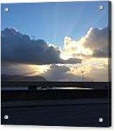 Sunbeams Over Conwy Acrylic Print