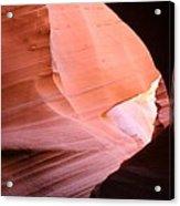 Sunlit Canyon Acrylic Print