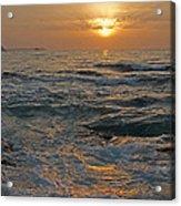 Sunrise At Portscatho Acrylic Print