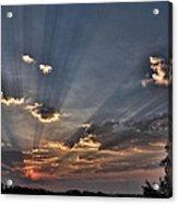 Sunrise Glory Acrylic Print