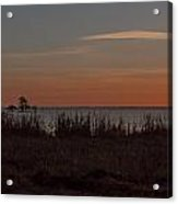 Sunrise On Lake Mattamuskeet Acrylic Print