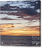 Sunrise Over The Sea Of Cortez Acrylic Print