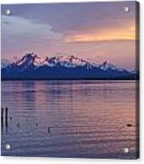 Sunrise Over Ultima Esperanza Acrylic Print
