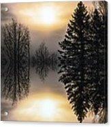 Sunrise-sundown Acrylic Print