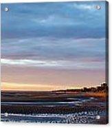 Sunset At First Encounter Beach Acrylic Print
