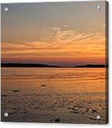 Sunset At Loch Bay Acrylic Print