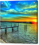 Sunset At The Cape Acrylic Print
