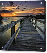 Sunset At Wildcat Cove Acrylic Print