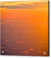 Sunset In The Sky Acrylic Print