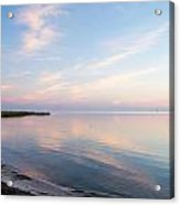 Sunset In The Sound Acrylic Print